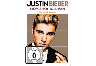 Justin Bieber: From a Boy to a Man - (DVD)