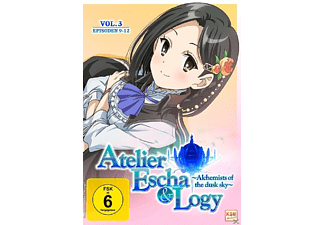 Atelier Escha & Logy - Alchemists of the dusk sky - Volume 3 (Episoden 09-12) - (DVD)
