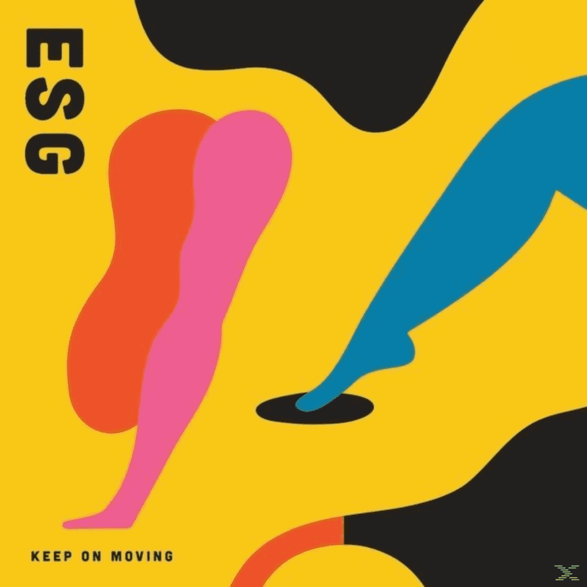 Esg - Keep On Moving - (CD)