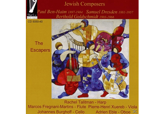 Rachel/xuereb/fregnani-martins/eble/burgh Talitman - Jewish Composers The Escapers - (CD)