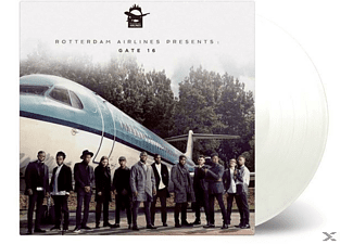 Rotterdam Airlines Presents - Gate 16 (LTD White Vinyl) - (Vinyl)