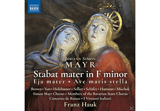 Franz/bavarian Classical Players/+ Hauk - Stabat mater f-moll - (CD)