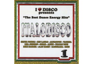 VARIOUS - I Love Italo Disco Energy Vol.1 - (CD)
