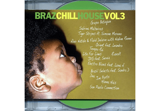 VARIOUS - brazchill house vol.3 - (CD)
