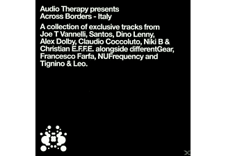 VARIOUS - audio therapy-across borders-italy - (CD)