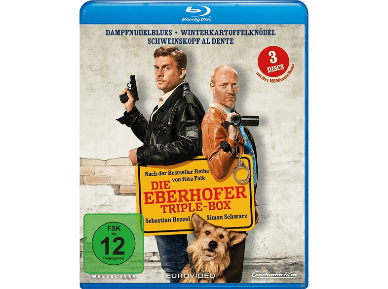 Die Eberhofer-Triple Box [Blu-ray]