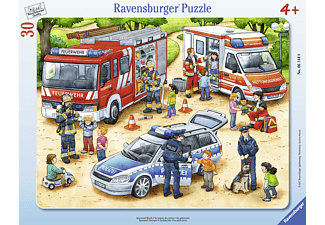 RAVENSBURGER Spannende Berufe Puzzle, Mehrfarbig