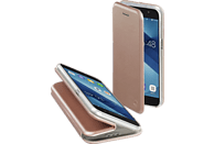 Curve Bookcover Samsung Galaxy A3 (2017) Polyurethan/Thermoplastisches Polyurethan Rosegold