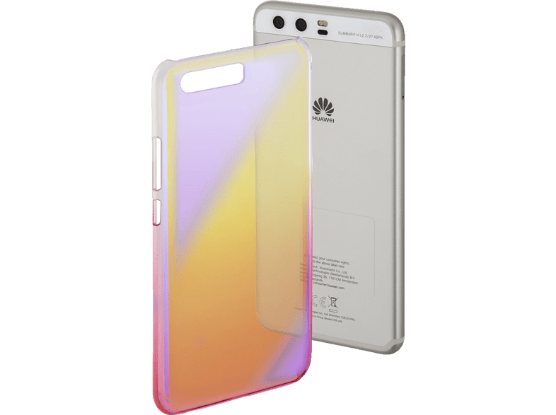 Mirror Backcover Huawei P10 Polycarbonat Gelb/Pink | 04047443356239