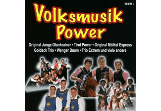 VARIOUS - Volksmusik Powewr - (CD)