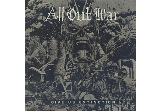 All Out War - Give Us Extinction (LTD Clear Vinyl) - (LP + Download)