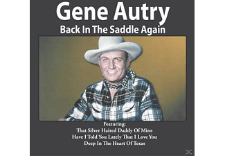 Gene Autry - Back In The Saddle Again - (CD)