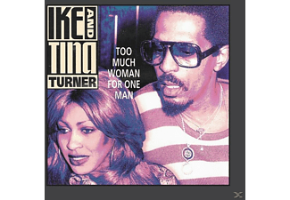 Ike & Tina Turner - Too Much Woman For One Man - (CD)