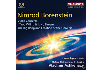 Irmina Trynkos, Oxford Philharmonic Orchestra - Violinkonzert/If you will it,it is no dream/+ - (SACD Hybrid)