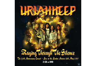 Uriah Heep - Raging Through The Silence-Live '89 (2CD+DVD) - (CD + DVD Video)