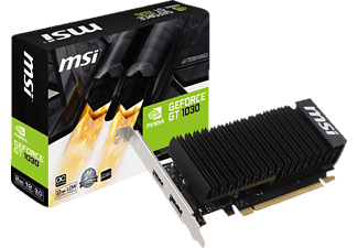 MSI GeForce® GT 1030 2GH LP OC (V809-2498R)( NVIDIA, Grafikkarte)