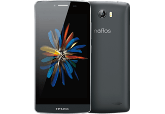 TP-LINK Neffos C5, Smartphone, 16 GB, 5 Zoll, Anthrazit, Dual SIM