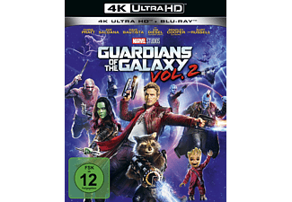 Guardians of the Galaxy Vol. 2 - 4K UHD Edition - (4K Ultra HD Blu-ray + Blu-ray)