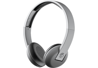 SKULLCANDY UPROAR, Over-ear Kopfhörer, Headsetfunktion, Bluetooth, Grau