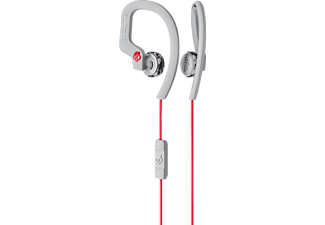 SKULLCANDY CHOPS FLEX, In-ear Kopfhörer, Headsetfunktion, Grau/Rot