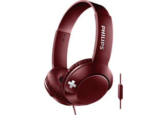 PHILIPS Hoofdtelefoon On-ear Bass+ Rood (SHL3075RD/00)