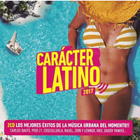 VARIOUS - Caracter Latino 2017 [CD]