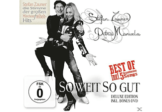 Stefan Zauner & Petra Manuela - So Weit So Gut (Deluxe Edition) - (CD + DVD Video)