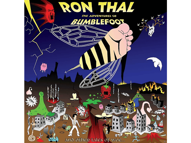 Ron Thal - The Adventures of Bumblefoot [Vinyl]