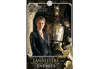 Game of Thrones - Poster Cersei Show The Waht Lannisters are