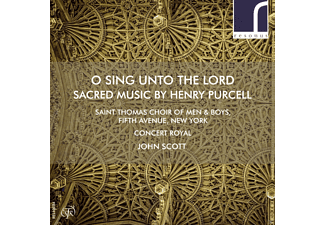 Saint Thomas Choir of Men & Boys - O Sing Unto the Lord - (CD)