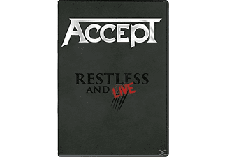 Accept - Restless & Live - (DVD)