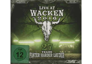 VARIOUS - Live At Wacken 2016-27 Years Faster Harder Louder - (CD + DVD Video)