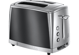 RUSSELL HOBBS 23221-56 Luna Moonlight Grey, Toaster, 1550 Watt