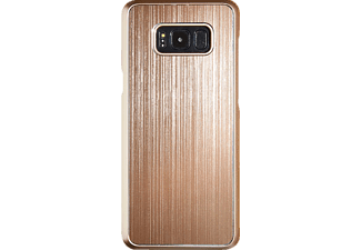 SPADA Brushed Alu Softcover Handyhülle, Gold, passend für Samsung Galaxy S8+