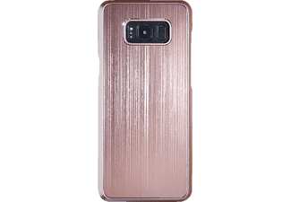 SPADA Brushed Alu Softcover Handyhülle, Rosegold, passend für Samsung Galaxy S8+