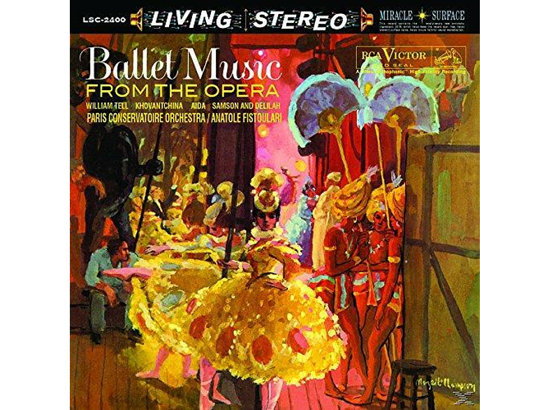 Paris Conservatoire Orchestra - Ballet Music From The Opera [Vinyl]