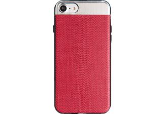 SPADA PURE iPhone 6/iPhone 6s/iPhone 7/iPhone 8 Handyhülle, Rot/Silber