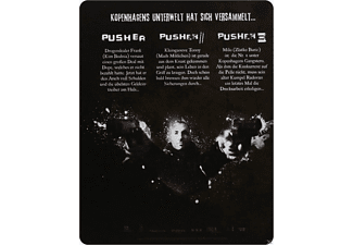 Pusher - Pusher II - Respect - Pusher III - I'm the Angel of Death - (Blu-ray)