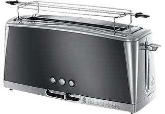 RUSSELL HOBBS 23251-56 Luna Moonlight Grey, Toaster, 1420 Watt