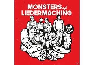 Monsters Of Liedermaching - Für Alle (Ltd.2LP/Weißes Vinyl) - (Vinyl)