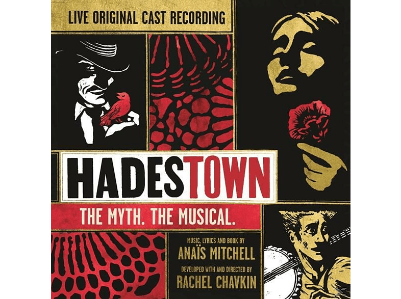 New York Thear Workshop - Hadestown: The Myth.The Musical. [CD]