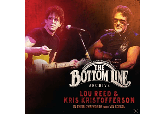 Lou Reed, Kris Kristofferson - In Their Own Words: With Vin Scelsa - (CD)