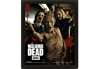 The Walking Dead 3D-Poster Zombies