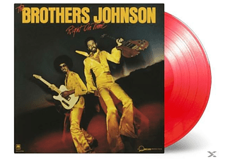 The Brothers Johnson - Right On Time (Ltd.Strawberry Red Vinyl) - (Vinyl)
