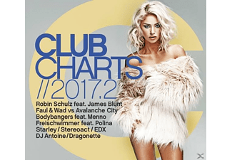 VARIOUS - Club Charts 2017.2 - (CD)