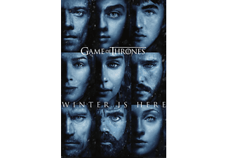 PYRAMID INTERNATIONAL Game of Thrones Poster Staffel 7 Winter is here Poster, Mehrfarbig