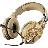 TRUST GXT 322D Carus Gaming Headset Desert Camouflage