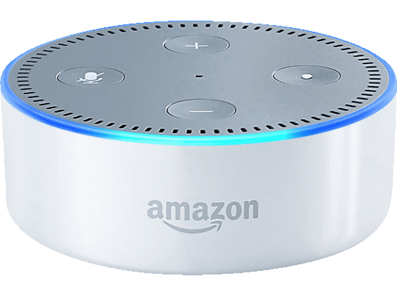 AMAZON Echo Dot 2. Generation Smart Speaker mit Sprachsteuerung ...