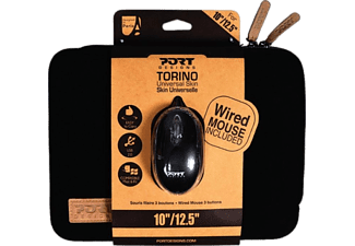 "PORT DESIGNS Laptophoes Torino 10 - 12.5"" + Muis (501775)"