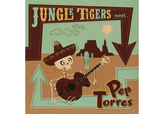 "Pep Torres, Jungle Tigers - Jungle Tigers Meet Pep Torres (Lim.Ed.10"") - (Vinyl)"